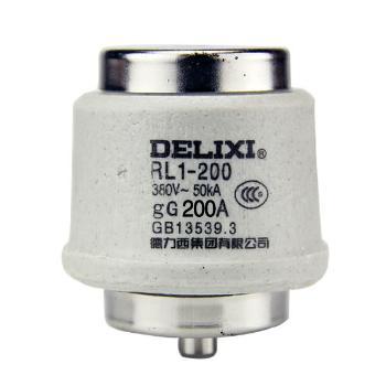 德力西电气 低压熔断器;RL1-200 体 200A