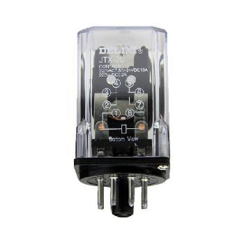德力西电气 继电器;JTX 2C DC12V