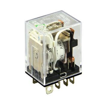 德力西电气 继电器;JQX-13F2Z-L (带灯)DC12V