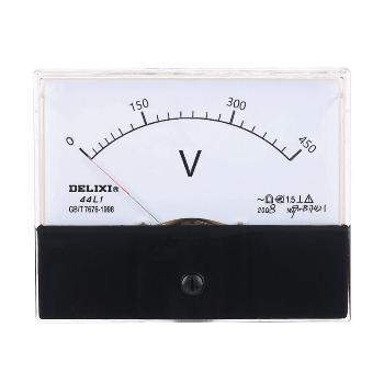 德力西电气 电压测量仪表;44L1-450V