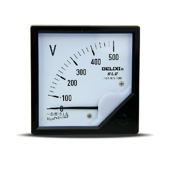 德力西电气 电流测量仪表;6L2-50A 直通