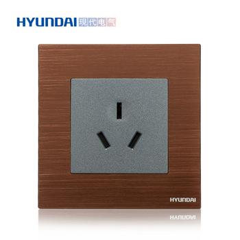 现代电气 开关插座面板 K70系列 16A三级插座功能键