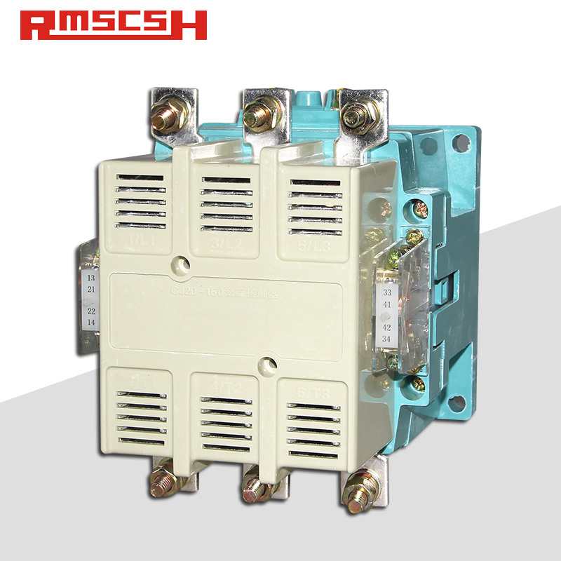 人民电气 CJ20-160A/100A/63A单相三相380V交流接触器36V 110V 220V银触点