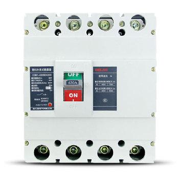 德力西电气 框架式断路器(万能式);CDM1-630M/4300 500A