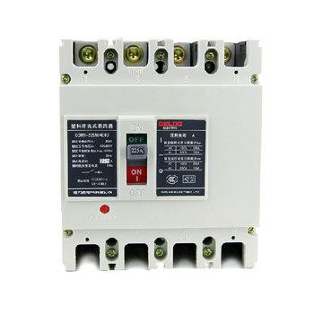 德力西电气 框架式断路器(万能式);CDM1-225M/4300 100A