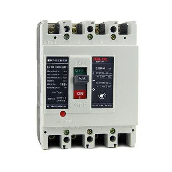 德力西电气 框架式断路器(万能式);CDM1-63M/4300 16A