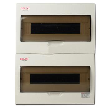 德力西电气 配电箱;PZ50-40回路 暗装