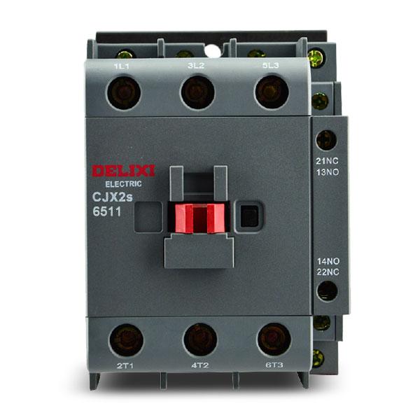 德力西电气 低压接触器;CJX2s-6511 380V/400V 50Hz