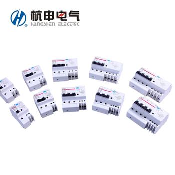 杭申电气 微断漏电保护;HSM9L-63 D10A/3P+N 30MA