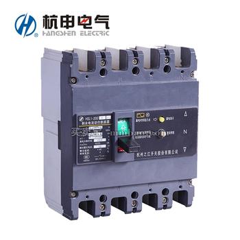 杭申电气 塑壳漏电保护;HSL1-400/4300A 350A 300MA