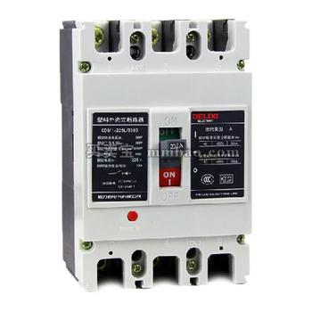 德力西电气 塑壳漏电保护;CDM1L-225L/4200A100AII100300500MA220V2S