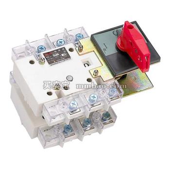 德力西电气 隔离开关;HGLZ-1600/4CJ 柜外操作