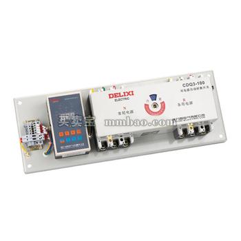 德力西电气 双电源;CDQ3-400M 400A 4P 带辅助