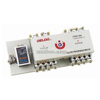 德力西电气 双电源;CDQ3-225M 225A 4P 带消防脱扣 一体式