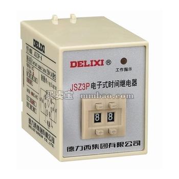 德力西电气 时间继电器;JSZ3P-R 0.1S-99H AC36V