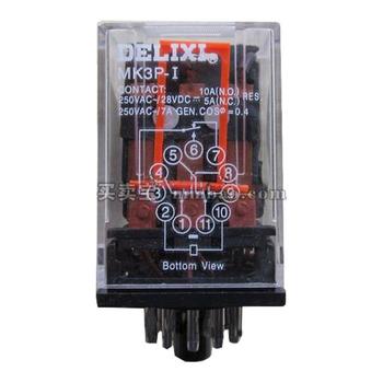 德力西电气 中间继电器;MK3P DC220V