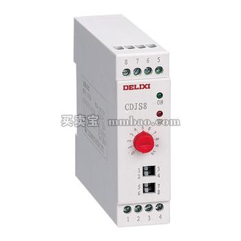 德力西电气 时间继电器;CDJS8 0.5S-100H(14延时段)AC48V