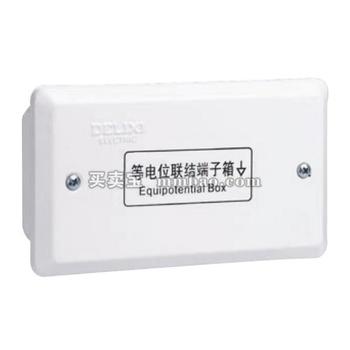 德力西电气 光纤终端信息箱;CDPE等电位箱 小箱 铜条 1*12
