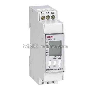 德力西电气 监测继电器;CDXJ6-3 AC400V