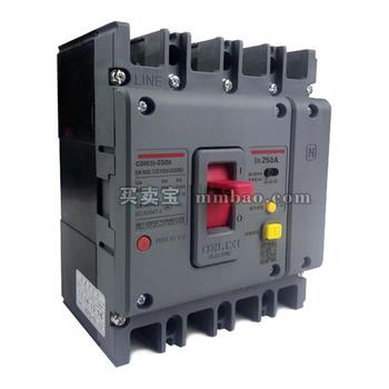 德力西电气 塑壳漏电保护;CDM3L-250S/4300B 250A 03/1/3
