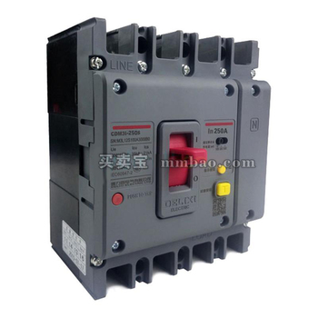 德力西电气 塑壳漏电保护;CDM3L-250C/3300 100A 1/3/5延1