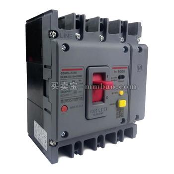 德力西电气 塑壳漏电保护;CDM3L-125C/3300 125A U 1/3/5 AC230V
