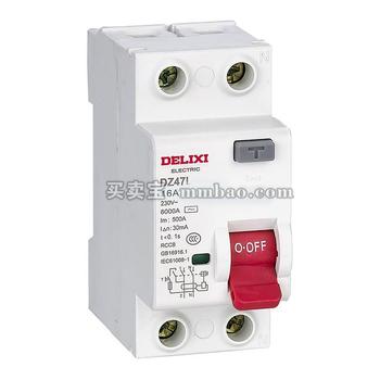 德力西电气 漏电开关;DZ47L 2P 32A 30MA A