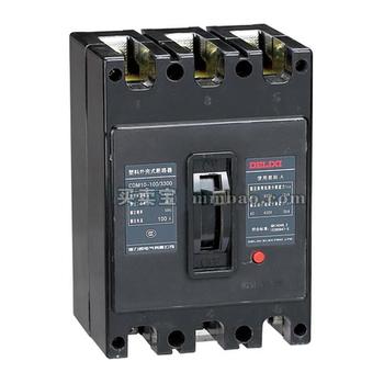 德力西电气 塑壳电动机保护;CDM10-250T/33002 120A 透明