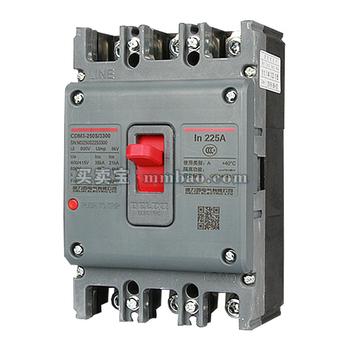 德力西电气 塑壳断路器;CDM3-63F/4300B 63A