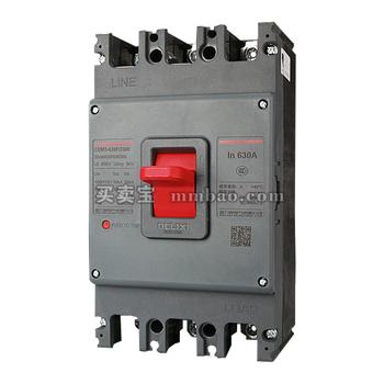 德力西电气 塑壳断路器;CDM3-125S/3300 125A
