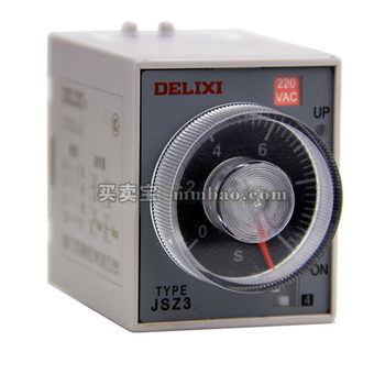德力西电气 时间继电器;JSZ3-2 10S AC110V