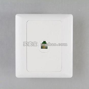 德力西电工 CD200系列D86T8一位八芯数据插座