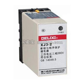 德力西 监测继电器;XJ3-2 AC380V