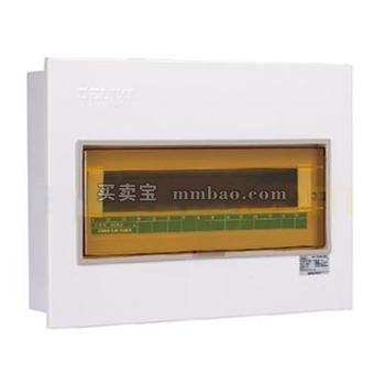 德力西 强电箱;CDPZ30S-20 回路 暗装式 单排 基础型