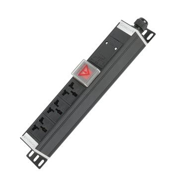 Gowone购旺 PDU机柜插座 工业插排 非常规接线板 工程插座 配线自接 3位 16A万用孔 WD3 裸机无线
