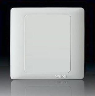 西蒙开关面板 50雅白系列 空白面板
