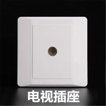 德力西电工 CD210系列 一位电视终端插座