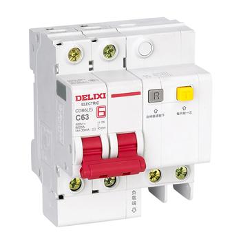 德力西电气 微断漏电保护;CDB6LEi C20A 1P+N 30mA
