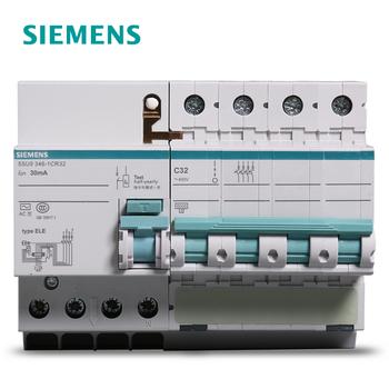 【西门子】小型断路器 漏电保护 4P 32A