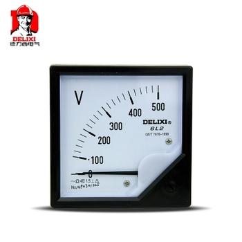 德力西电气 电压测量仪表;6L2V-450