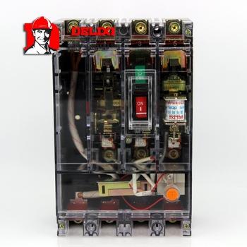 德力西塑壳漏电断路器DZ20L-160T/4300 160A 30MA 非延时0.1S 透明