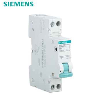西门子漏电开关 单片带漏电断路器空气开关1P+N32A