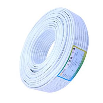 爱谱华顿(AIPU) HYB4*1/0.5 白色 200m/卷 四芯圆电话线