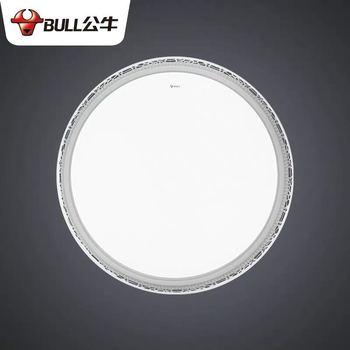 公牛LED吸顶灯新款圆形家用卧室客厅灯  锦秀卧室灯