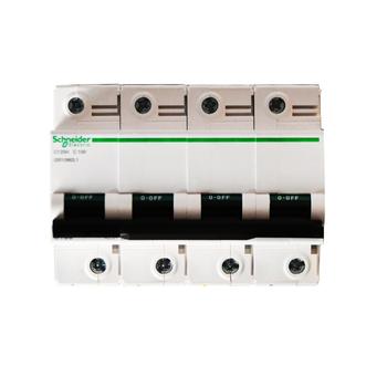 施耐德 Acti 9 微型断路器;C120H 4P C 100A (A9) A9N19819
