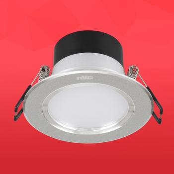 雷士LED筒灯NLED9153 6W 砂银常规