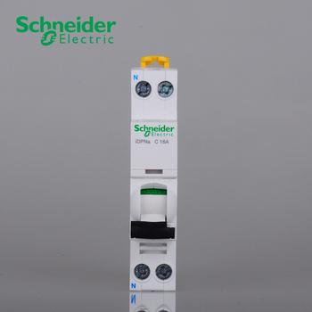施耐德 Acti 9 微型断路器;IDPNA C 16A 4.5KA  A9P08616