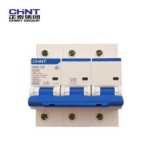 正泰 微型断路器;NXB-125 3P C100