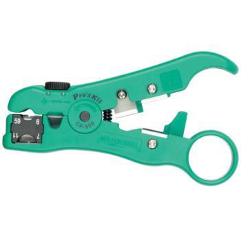 宝工(ProsKit)多功能剥线器 可剥网线/电话线/同轴电缆线 CP-505