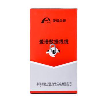 爱谱华顿(AIPU) 六类4对UTP电缆 AP-6-01 305米每箱(灰色)